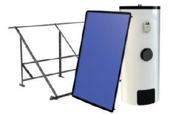 Drain-back forzado vertical 150lts (vsch 2200 x1)